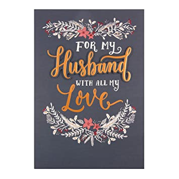 hallmark medium husband happy new year christmas card