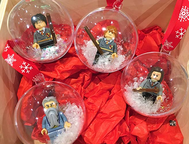 Harry Potter Christmas Wallpaper Hd.Harry Potter Handmade Christmas Tree Baubles Fit Lego Gift