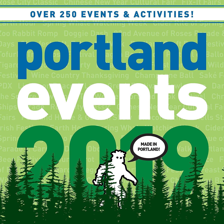 Portland Events Calendar 2019 Amazon.: Portland Events 2019 Wall Calendar   Over 250