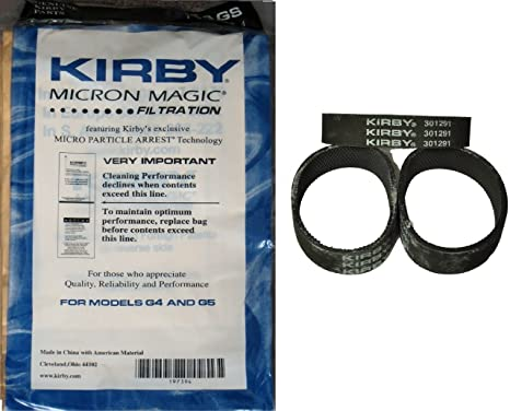 Kirby NEW 9 micras bolsas al vacío para aspiradoras G3 G4 G5 ...