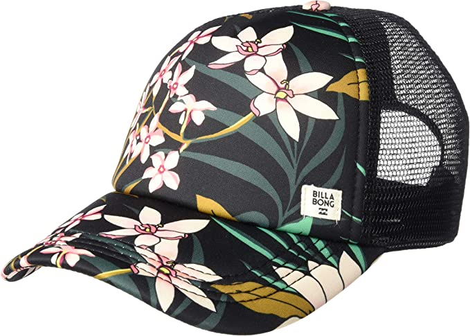 Billabong Womens Heritage Mashup Trucker Hat Cypress One Size ...