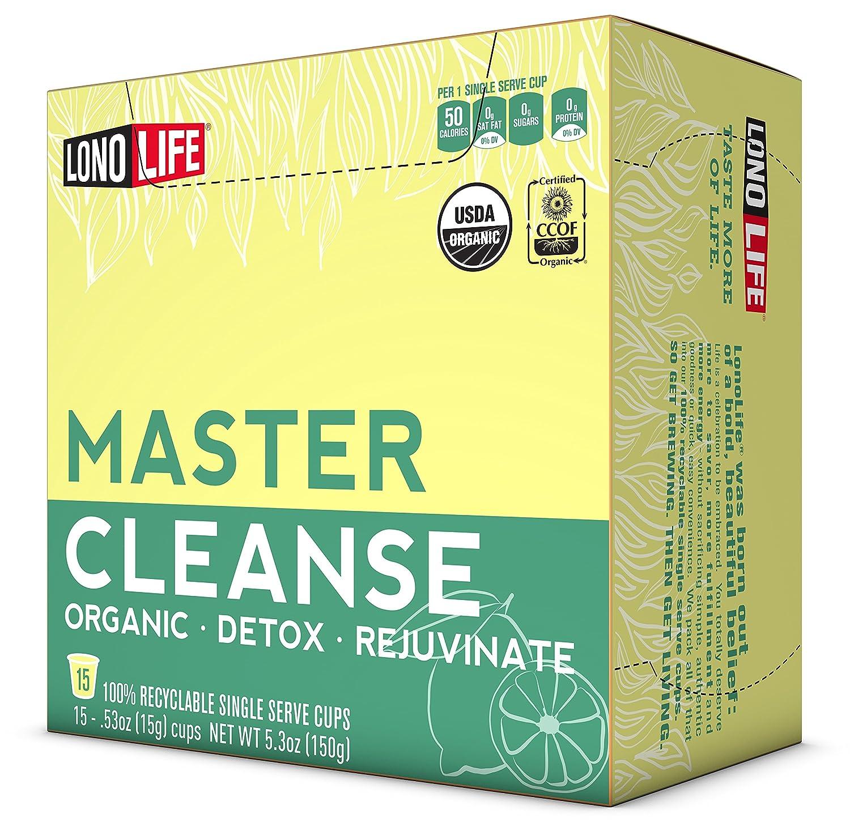 Amazon Lonolife Master Cleanse Lemonade Diet Stick Packs