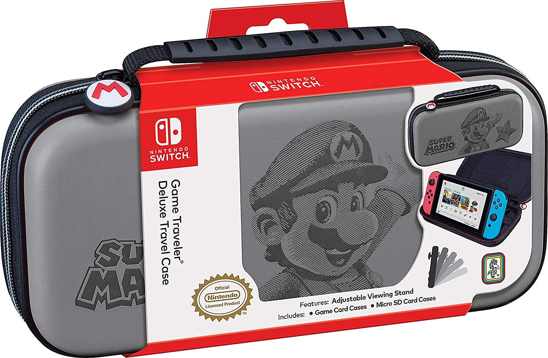 Nintendo Switch NNS46G Super Mario REISETASCHE GR: Amazon.es: Electrónica