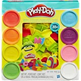 Play-Doh - Numbers, Letters & Fun Play Set - 8 Tubs of Dough - Creative Kids Toys - Ages 3+