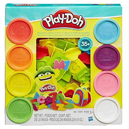 Play Doh Numbers And Letters