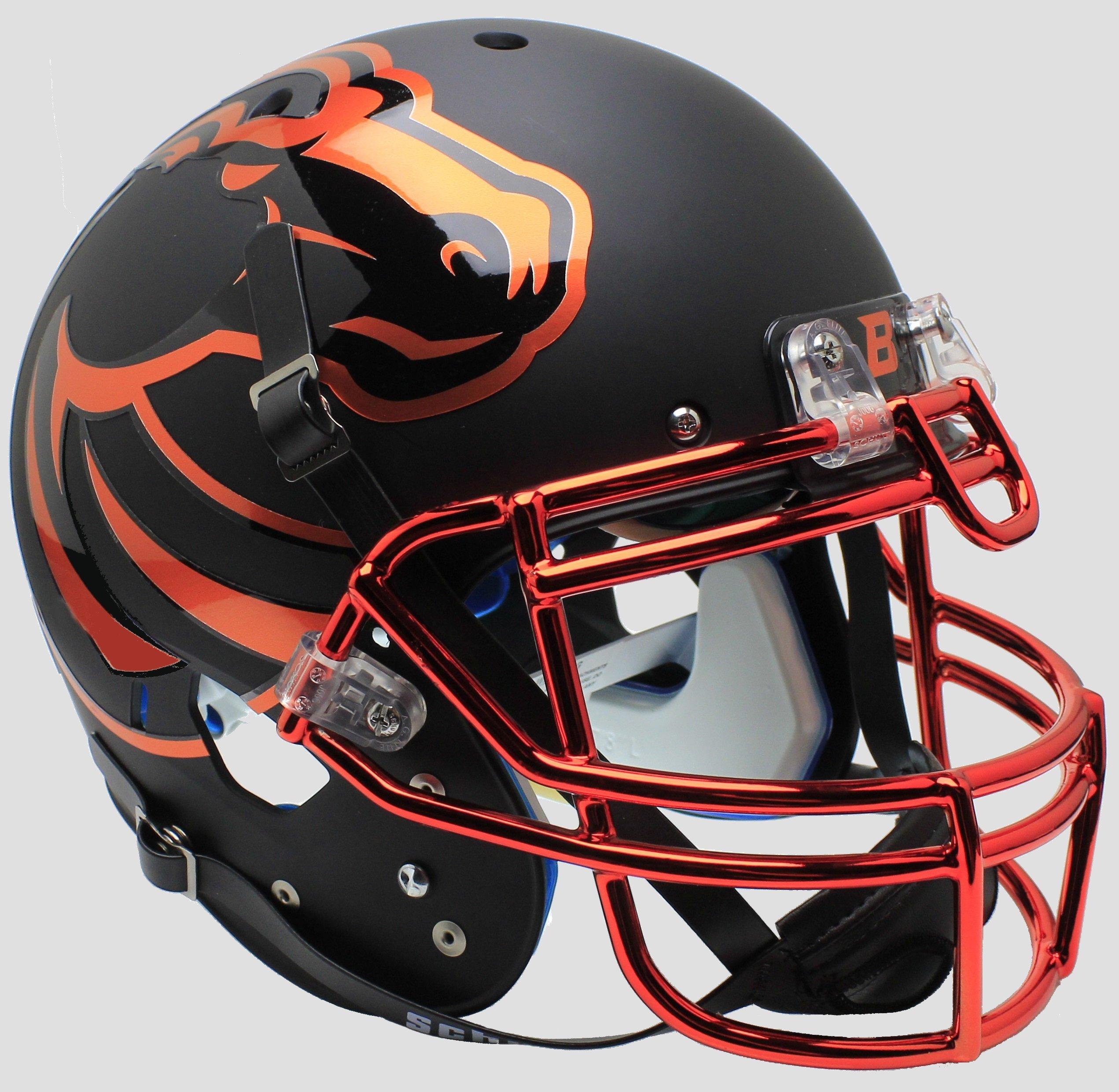 Schutt NCAA Boise State Broncos On-Field Authentic XP Football Helmet, Halloween Alt. 7 by Schutt (Image #1)