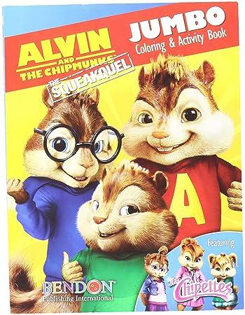 alvin the chipmunks jumbo coloring activity book - Coloring And Activity Book