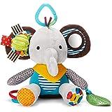 Skip Hop Baby Bandana Buddies Multi-Sensory Soft Plush Toy, Elephant