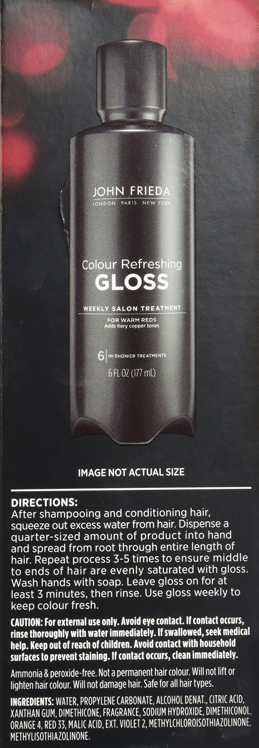 John Frieda Colour Refreshing Gloss, Warm Red, 6 Ounce by John Frieda PFC (Image #2)