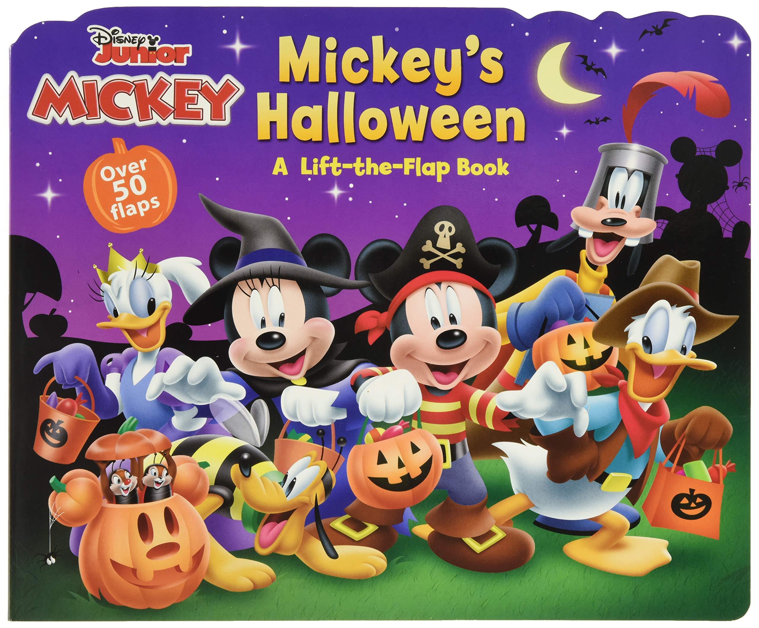 Mickey Mouse Clubhouse Mickey's Halloween: Disney Books, Disney Storybook  Art Team: 9781484720967: Amazon.com: Books
