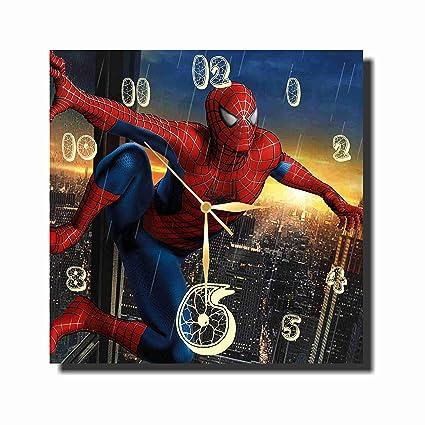 Amazoncom Mv Spiderman 114 Handmade Wall Clock Get