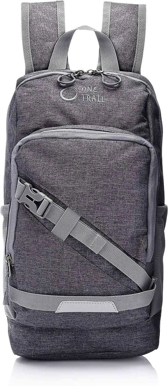 OneTrail Mini Me 10 Liter Daypack | Compact Hiking Daypack (Heather Grey)
