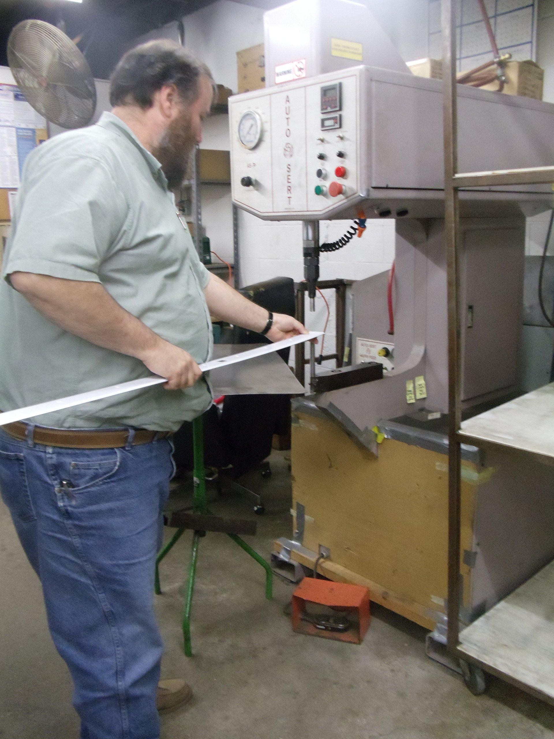 Door Jamb Pro - 48'' Door Frame Reinforcement Strike Plate; Fits 1 3/4'' Thick Entry Doors by Door Security Pro (Image #1)