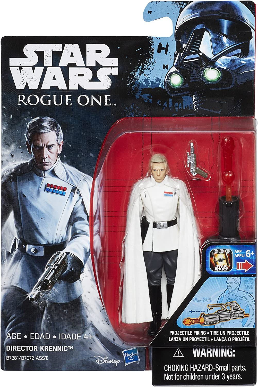 STAR WARS ROGUE ONE DIRECTOR KRENNIC 3 3//4-INCH ACTION FIGURE