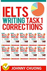Ielts Writing Task 1 Corrections: Most Common Mistakes Students Make And How To Avoid Them (Box set 10 in 1) Kindle Edition