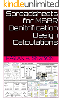 Amazon com: Spreadsheets for MBBR Process Design Calculations eBook