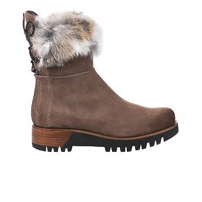 sélectionner pour dernier produits de qualité acheter Manas Boots Femme Taupe: Amazon.fr: Chaussures et Sacs
