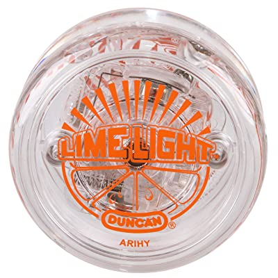 Duncan Toys Limelight LED Light-Up Yo-Yo, Beginner Level Yo-Yo with LED Light, Orange: Toys & Games