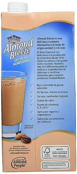 Almond Breeze Bebida de Almendra Cappuccino - Paquete de 6 x 1000 ml - Total: 6000 ml: Amazon.es: Amazon Pantry