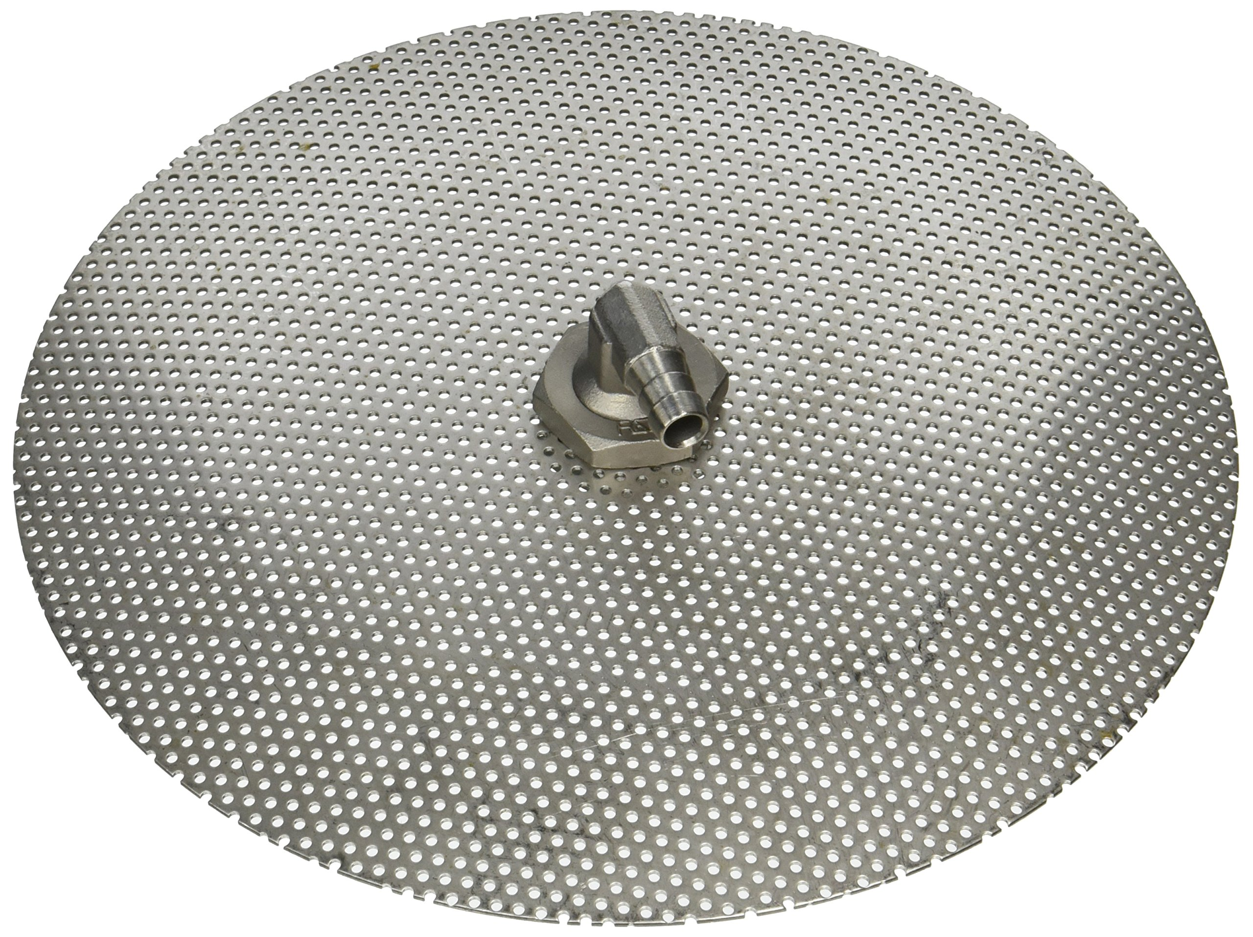 Stainless Steel Domed False Bottom - Select a Size (12'', 10'' or 9'') (9'') by Chill Passion Inc.