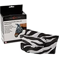 Fliegenschutzmaske Zebra Incl.Ohrenschutz