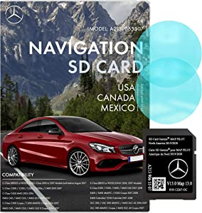 Mercedes Benz Navigation SD Card   C, E, GLC Class   Garmin Pilot A2139065507   2019/2020 GPS   Version 13.0   010-12267-0C   Anti Fog Rearview Mirror Sticker Included