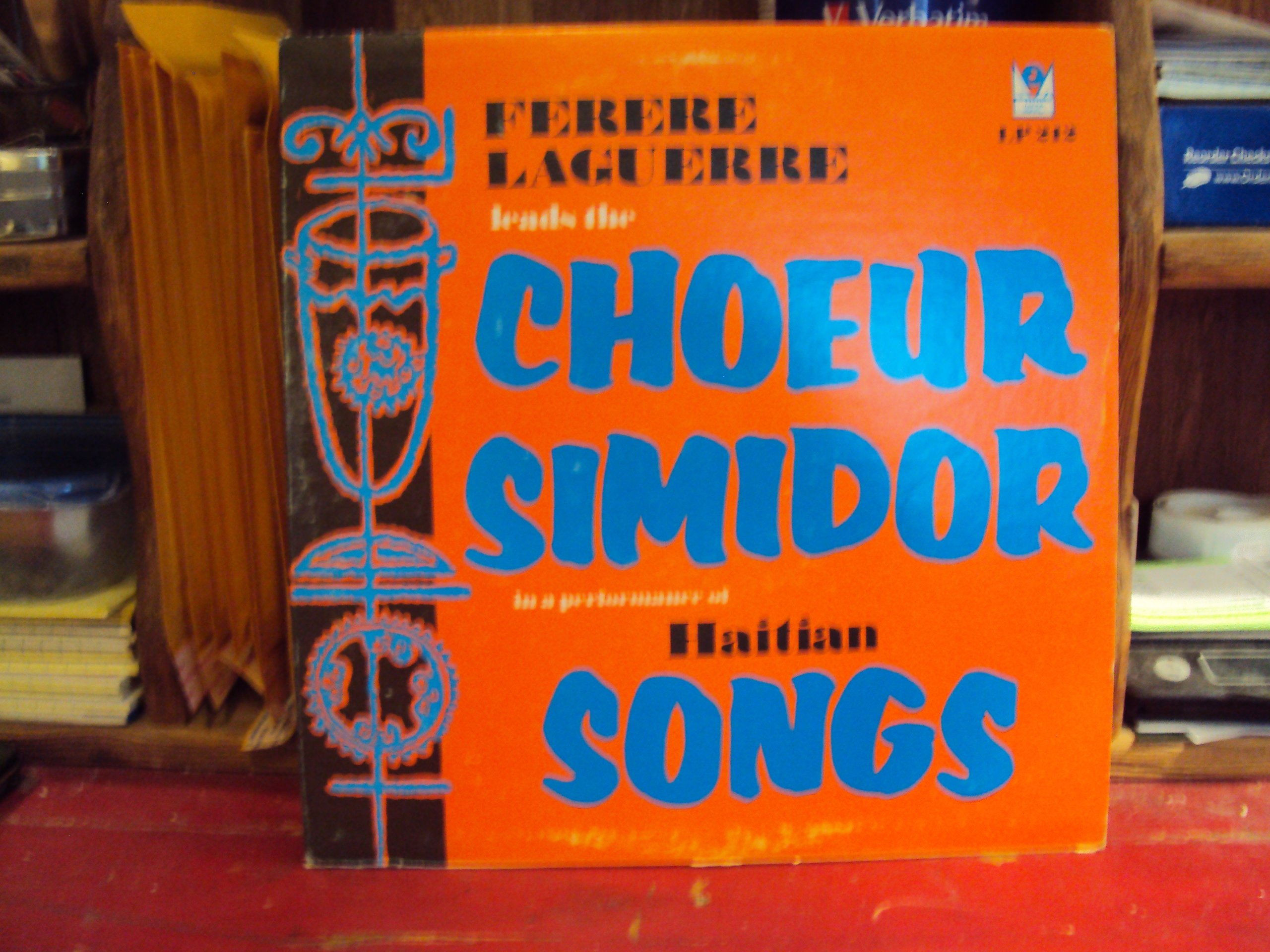 Ferere Laguerre Leads The Choeur Simidor in a Performance of Haitian Songs by Marc Records