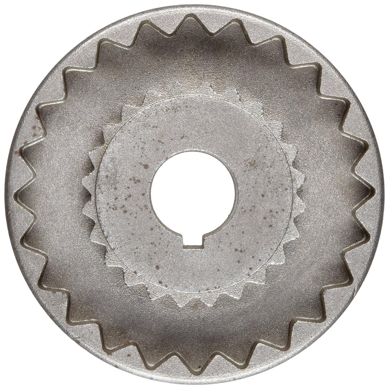 Martin 4J 1//2 Quadraflex Coupling Flange 2.375 Length 0.5 Bore B Inch Sintered Steel 0.5 Bore A 2.46 OD