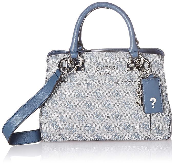 ff3c1f84 Guess Kathryn 4G - Bolso pequeño para niña, Azul, Talla unica ...