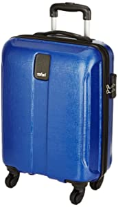 Safari Thorium Polycarbonate 55 cms Blue Hardsided Carry On (Thorium-Stubble-Dazzling-Blue-55-4WH)