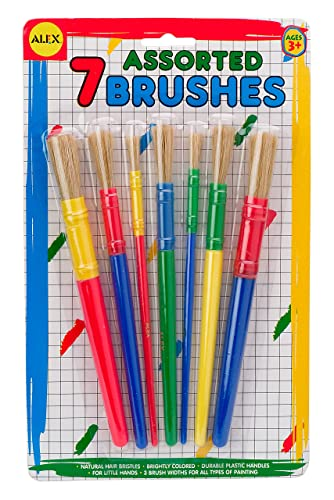 Alex Toys Artist Studio 7 Assorted Paint Brushes