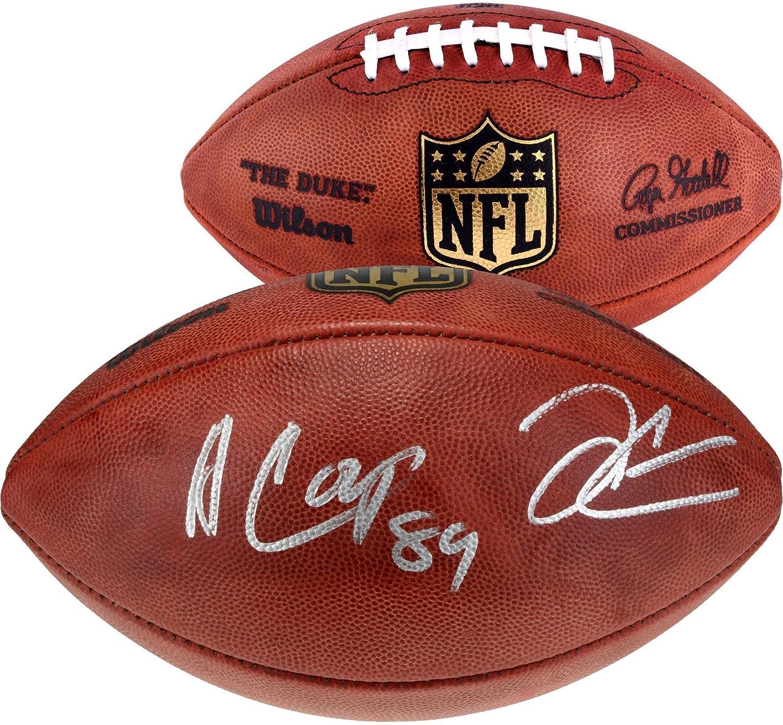 Derek Carr & Amari Cooper Oakland Raiders Dual Signed Duke Football - Fanatics Authentic Certified - Autographed Footballs