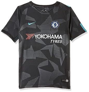 best website 9ca64 983ff Nike 2017-2018 Chelsea Third Football Soccer T-Shirt (Kids ...