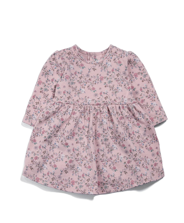 Mamas & Papas Floral Jersey Dress, Vestido para Bebés Rosa (Pink S16NZR1) 9-12 Meses Mamas and Papas S16NZR1B8