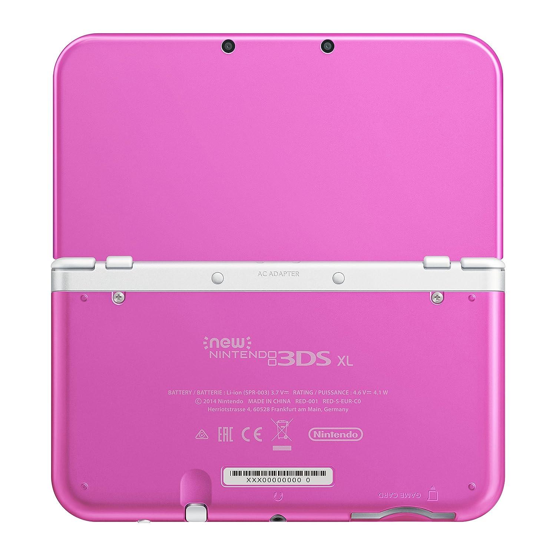 New Nintendo 3DS XL Pink White [Importación Alemana]: Amazon ...