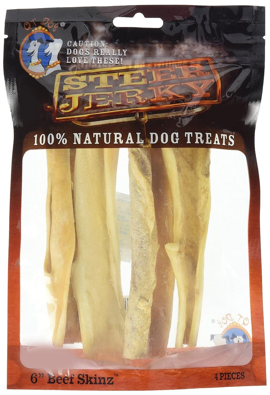 85%OFF QT Dog 4 Piece Beef Skinz Treat, One Size