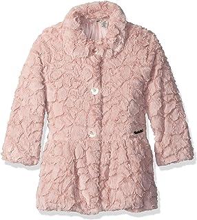 b00ca66bc Amazon.com  Calvin Klein Girls  Faux Fur Jacket  Clothing