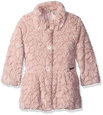 a9ecebabf89f Amazon.com  Calvin Klein Little Girls  Faux Fur Jacket  Clothing