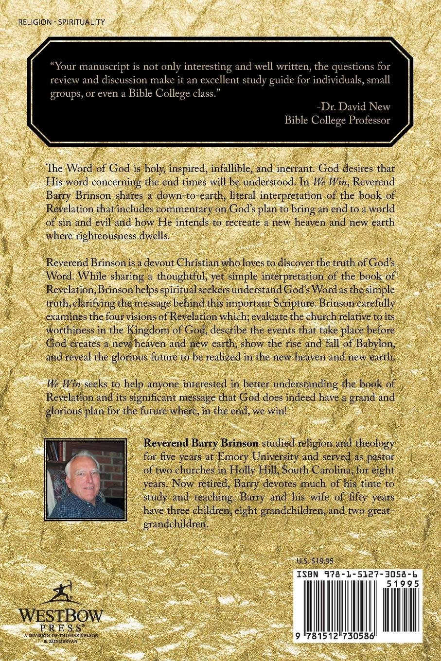 Literal Commentary and Study Guide on the Book of Revelation: Barry  Brinson: 9781512730586: Amazon.com: Books