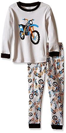 ec95aa1fd9a0e elowel Bebe Garcon Grenouillere Moto Pyjama Une Seule Piece Bien Serre