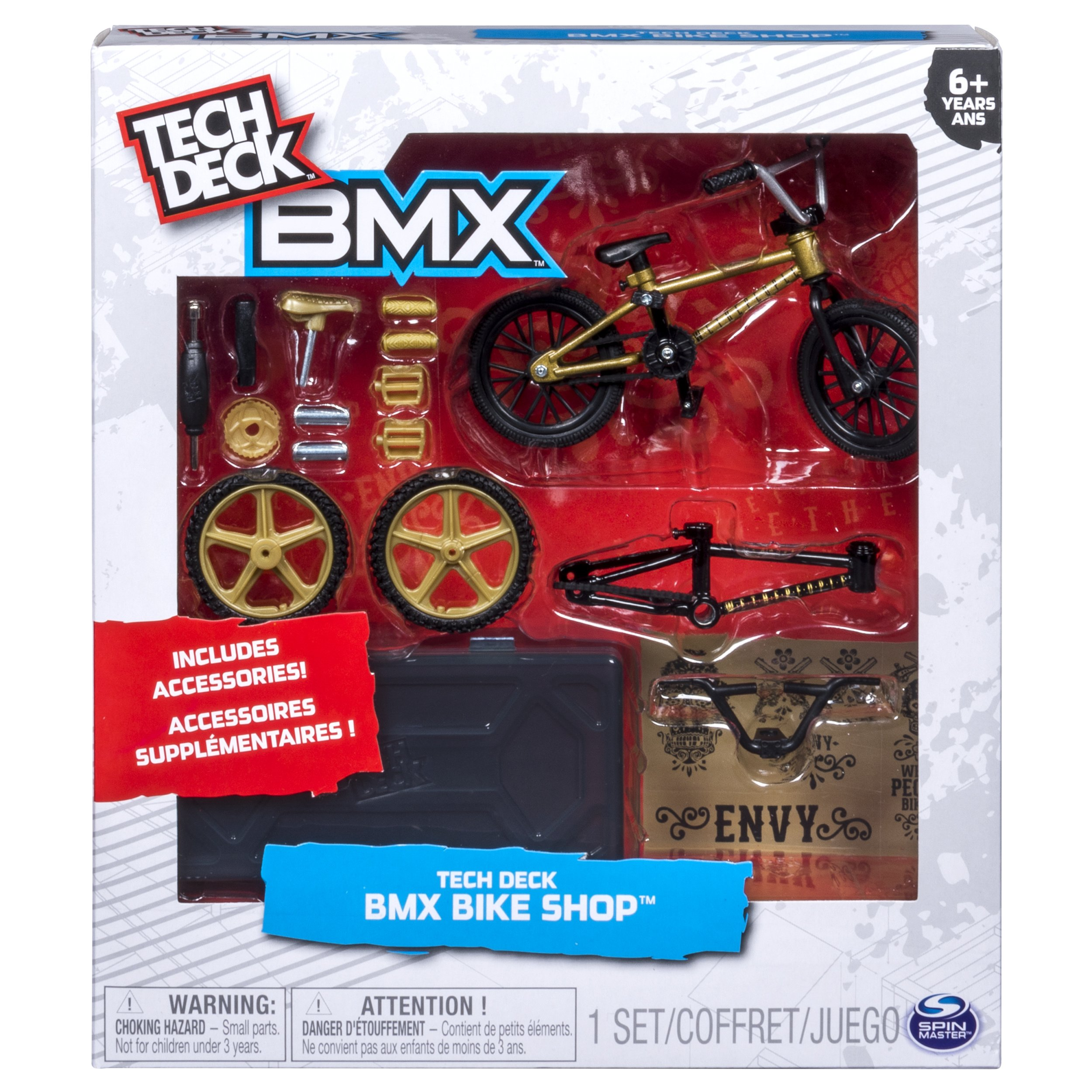 Tech Deck – BMX Bike Shop with Accessories and Storage Container – WeThePeople Bikes – Gold & Black by Tech Deck (Image #2)