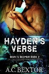 Hayden's Verse (Devil's Despair Book 2) Kindle Edition