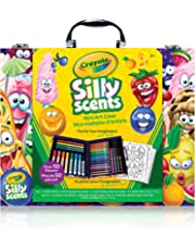 Crayola Scented Mini Inspiration Art Case, Scents, Markers, Colouring Book, Gift for Boys and Girls, Kids, Ages 3+, Back to school, School supplies, Arts and Crafts, Travel,  Gifting