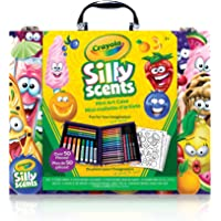 Crayola Scented Mini Inspiration Art Case, Scents, Markers,  Colouring Book, Gift for Boys and Girls, Kids, Ages 3+, Holiday Toys,  Arts and Crafts, Travel, Easter Basket Stuffers, Easter Gifting