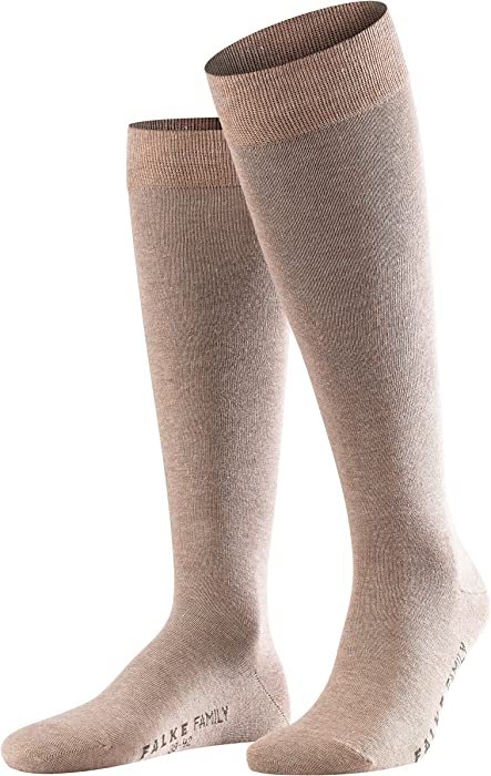 FALKE Men Family knee-highs EU 39-50 Year round cotton quality multiple colours durable UK sizes 5.5-14 ideal for casual looks 1  pair cotton mix