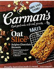 Carman's Oat Slice Belgian Chocolate Brownie, 6-Pack (200g)
