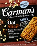 Carman's Oat Slice Belgian Chocolate Brownie, 6-Pack (200g)