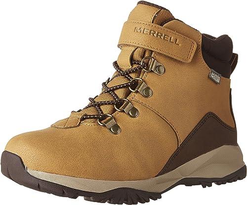 Merrell Boys Alpine Casual Boot WTRPF K, Bottes Chukka garçon