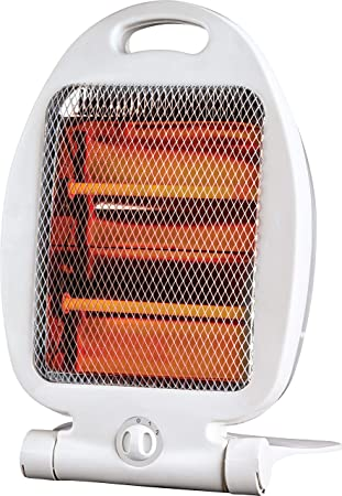 MAXELLPOWER Estufa HALOGENA 2 Tubos 800W 2 Niveles Anti CAIDA Portable Calefactor MP-EST1: Amazon.es: Hogar