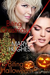 Biting Holiday Honeymoons: Two Laugh Out Loud Steamy Vampire Romps (Biting Love Short Bites Book 1) Kindle Edition